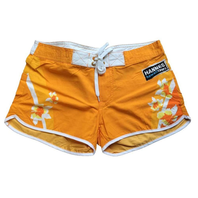 Damenshorts orange
