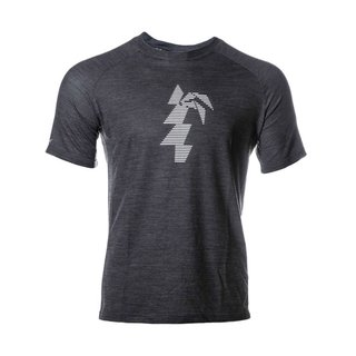 Waimea Merino T-Shirt Men black/white