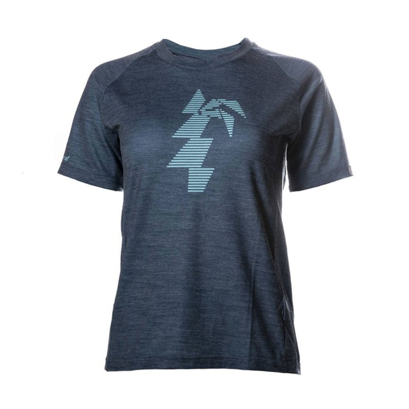 Polulu Merino Performance T-Shirt Woman blue/turquoise