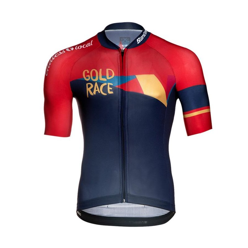 Gold Race Road Trikot Men 2019 blue/red