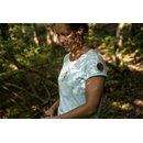 Memories T-Shirt Woman turquoise/black