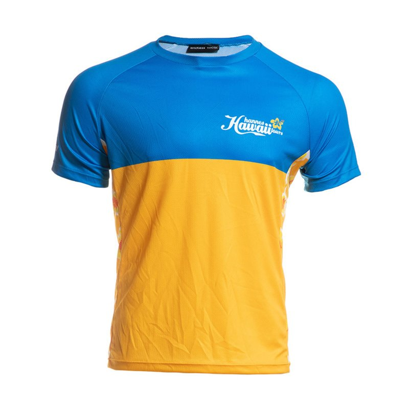 HHT T-Shirt Herren yellow/blue