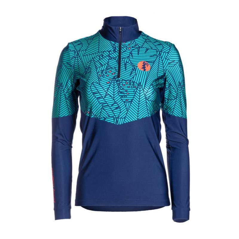 Palm Performance Longsleeve Women turquoise/blue