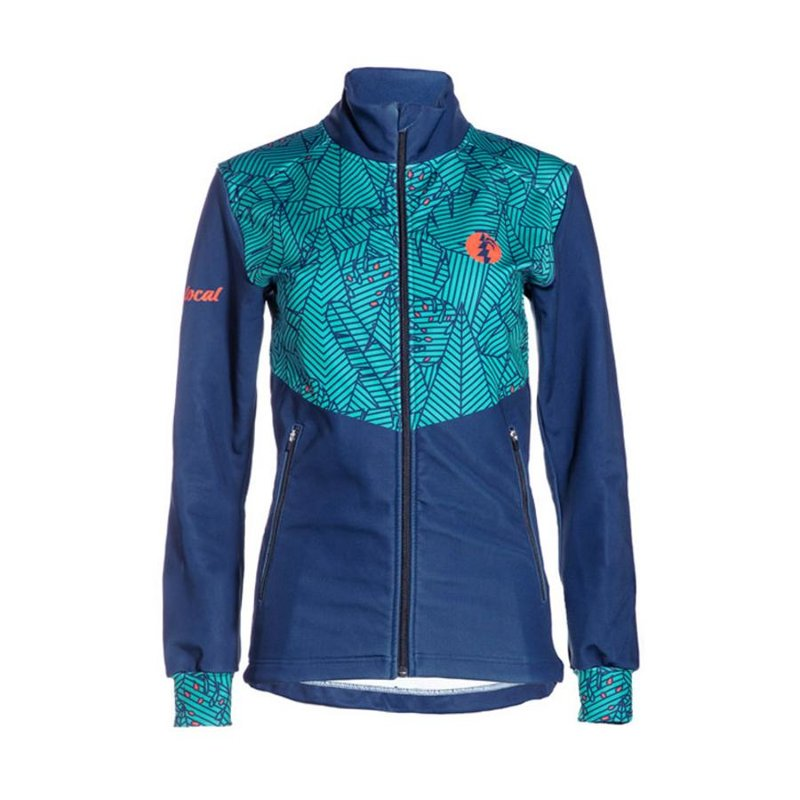 Palm Performance Jacket Women turquoise/blue