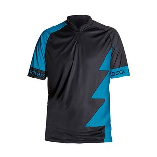 Hochgrat Bike Trikot Men black/petrol