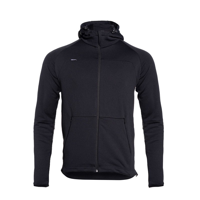 Kea Zip Hoody Men black/black