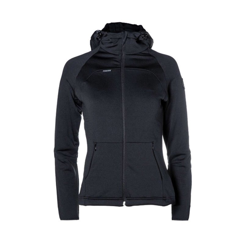 Loa Zip Hoody Woman black/black