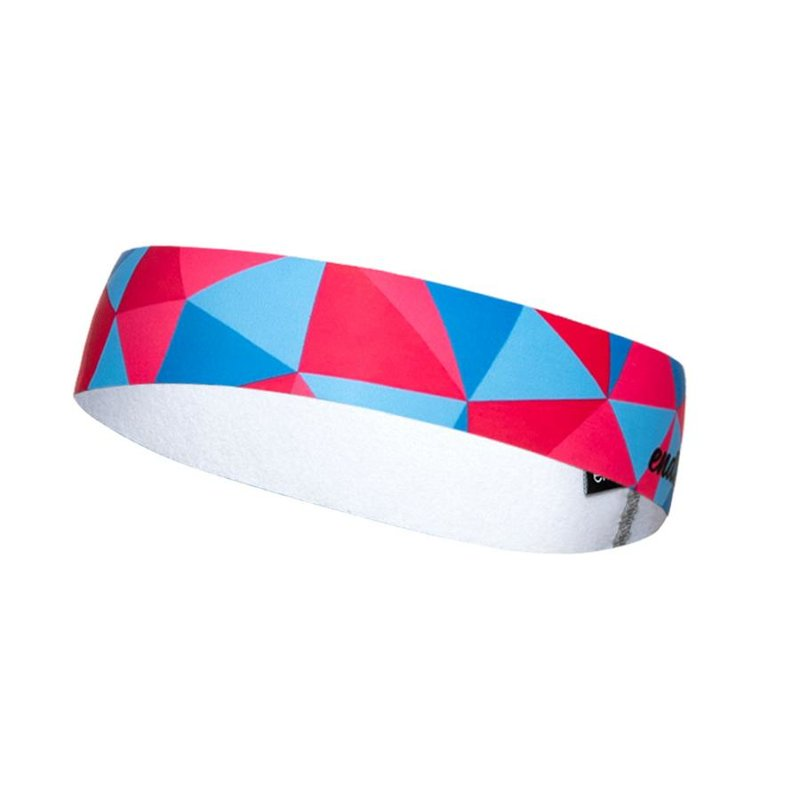 Racing Aloha Headband Slim blue/pink
