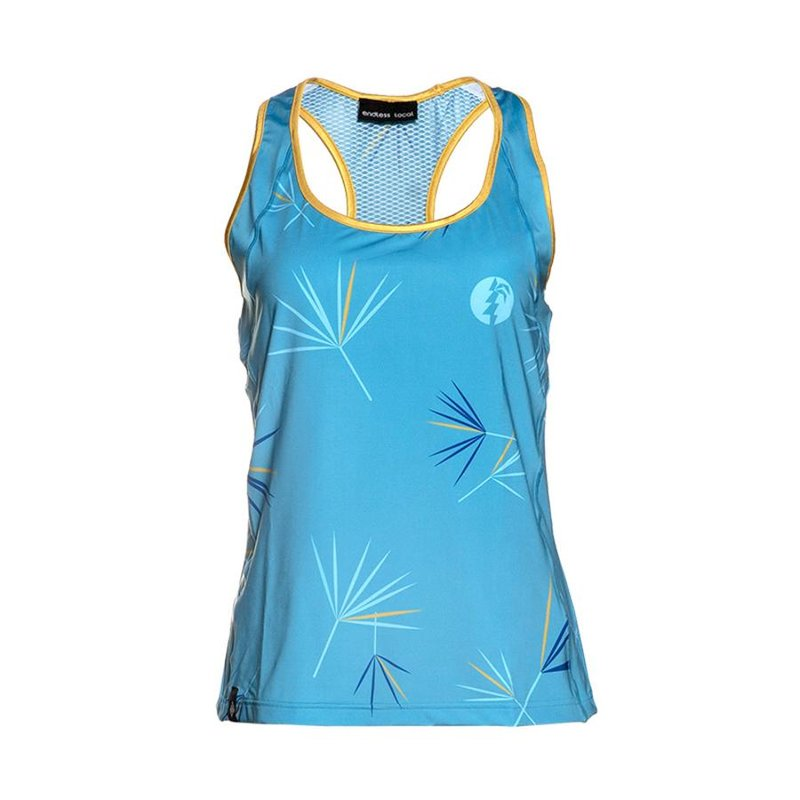 Moana Tank Top Woman aqua