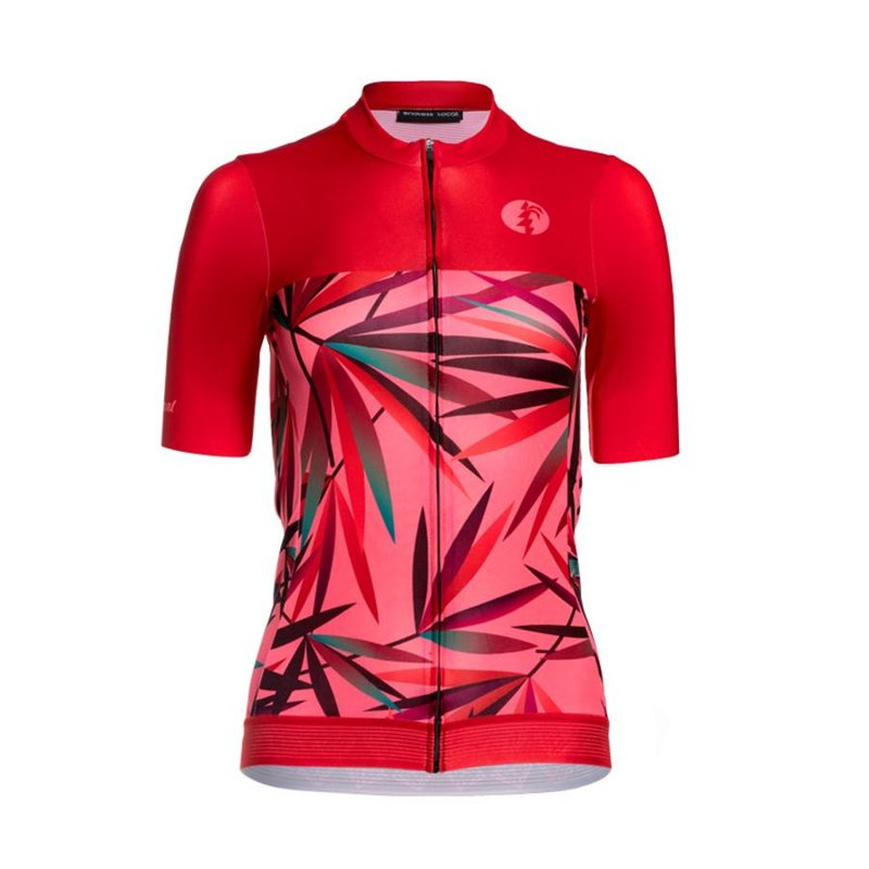Kiani Road Trikot Woman red