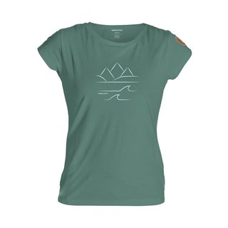 Coast T-Shirt Woman green/turquoise