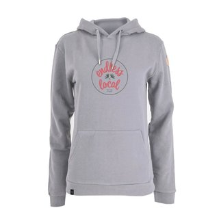 Kepano Hoody Woman grey/coral