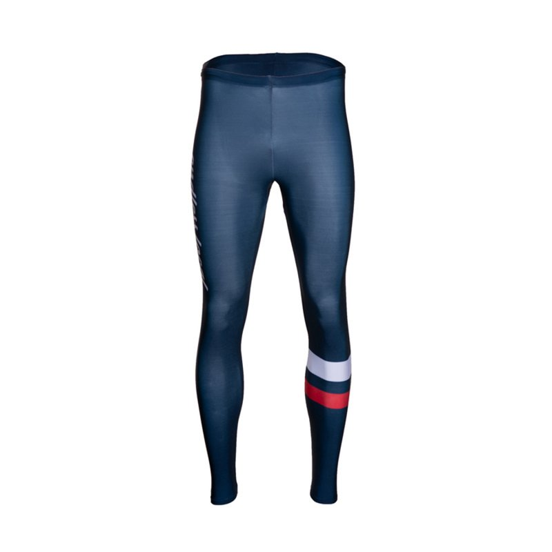 Maleko Performance Tight Men blue/white