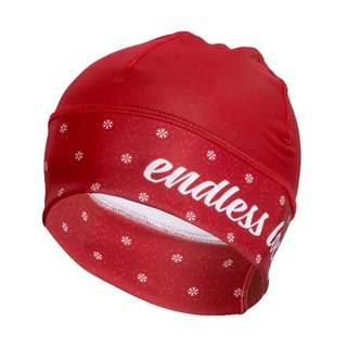 Haunani Beanie red/white