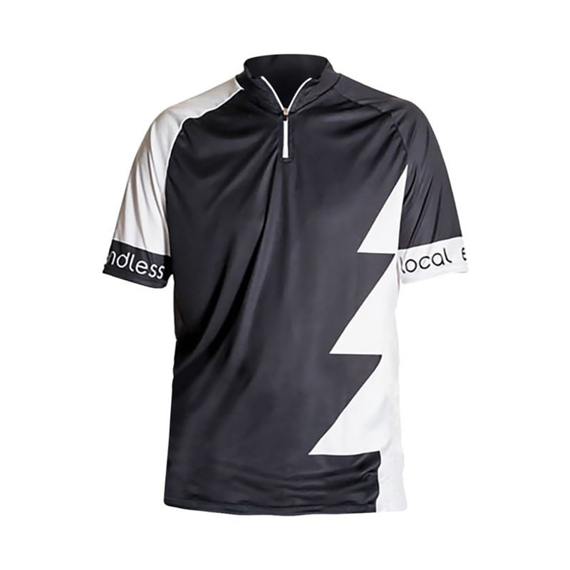 Hochgrat Bike Trikot Men black/white