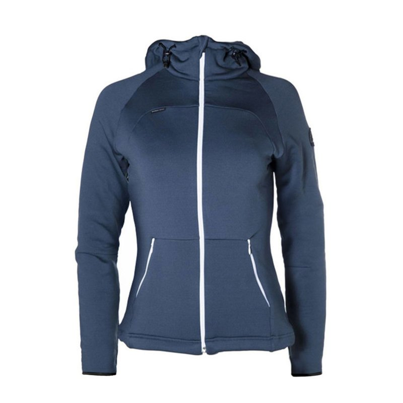 Loa Zip Hoody Woman navy/white